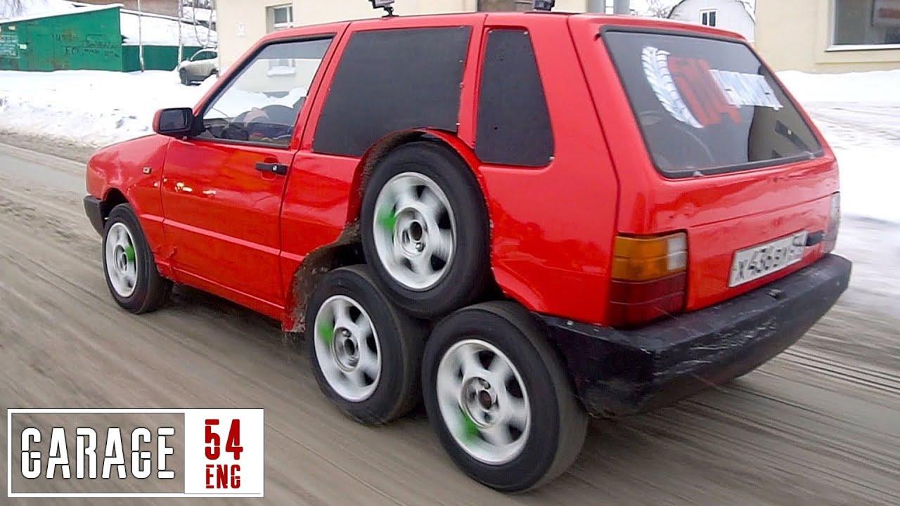 8 wheeled Fiat by Garage 54