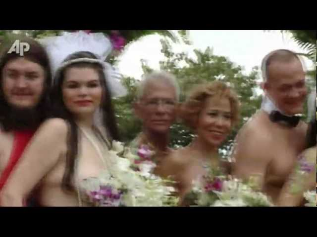 Nude wedding vidoes