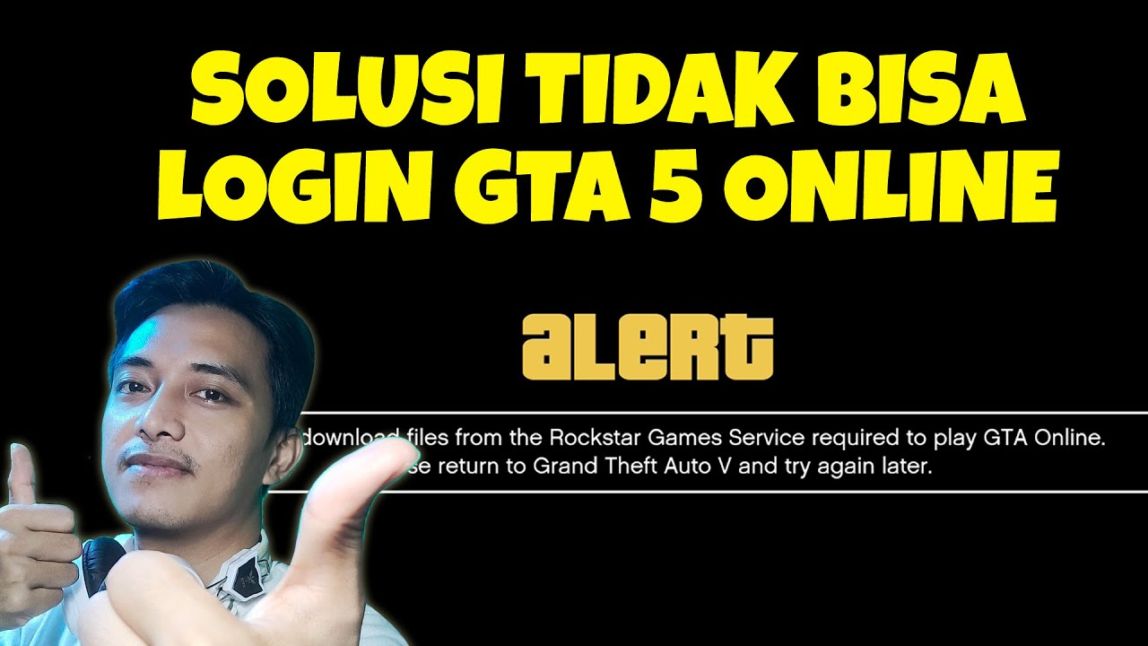 Cara Mengatasi Could Not Download Files From The Rockstar Games Services Required To Play GTA Online