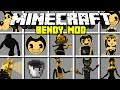 Minecraft GREAT BENDY AND THE INK MACHINE MOD BENDY BORIS ALICE ANGEL MORE Modded Mini Game mp3