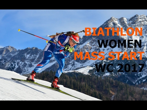 BIATHLON WOMEN MASS START 19.02.2017 World Championships Hochfilzen (Austria)