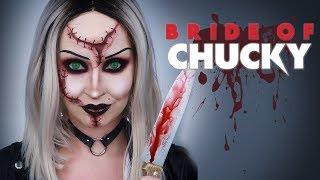 La Fiancée de Chucky (Tiffany) | Maquillage Halloween