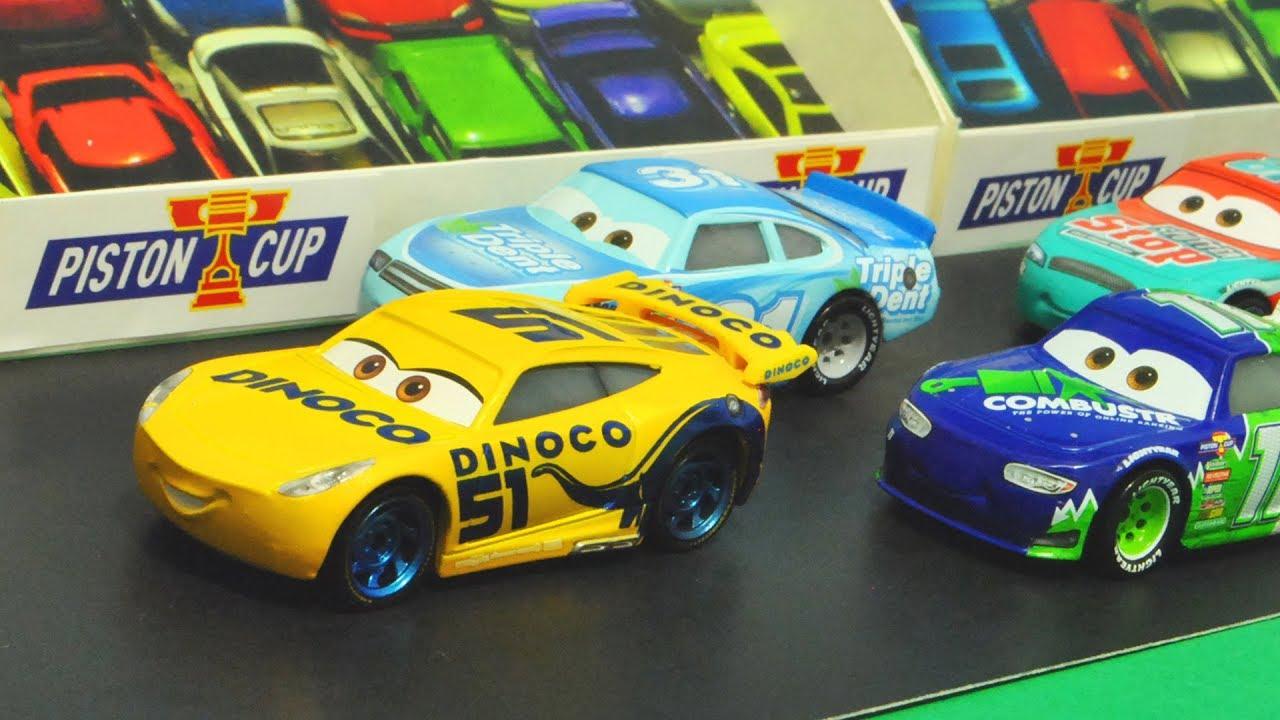 Disney Cars 3 Dinoco Cruz Ramirez S Piston Cup Race Stopmotion