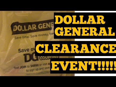 Dollar General Clearance Event!!!! | In-store and Online | Let's go Shopping