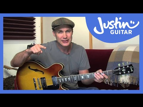 How to Tune Your Guitar Using Reference Pitches - Guitar Lesson [ES-010]