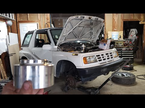 "Suzuki Sidekick "" Tracker "" 2 inch Spacer Lift kit Install. The Fast Easy Way. Step by Step. How To"