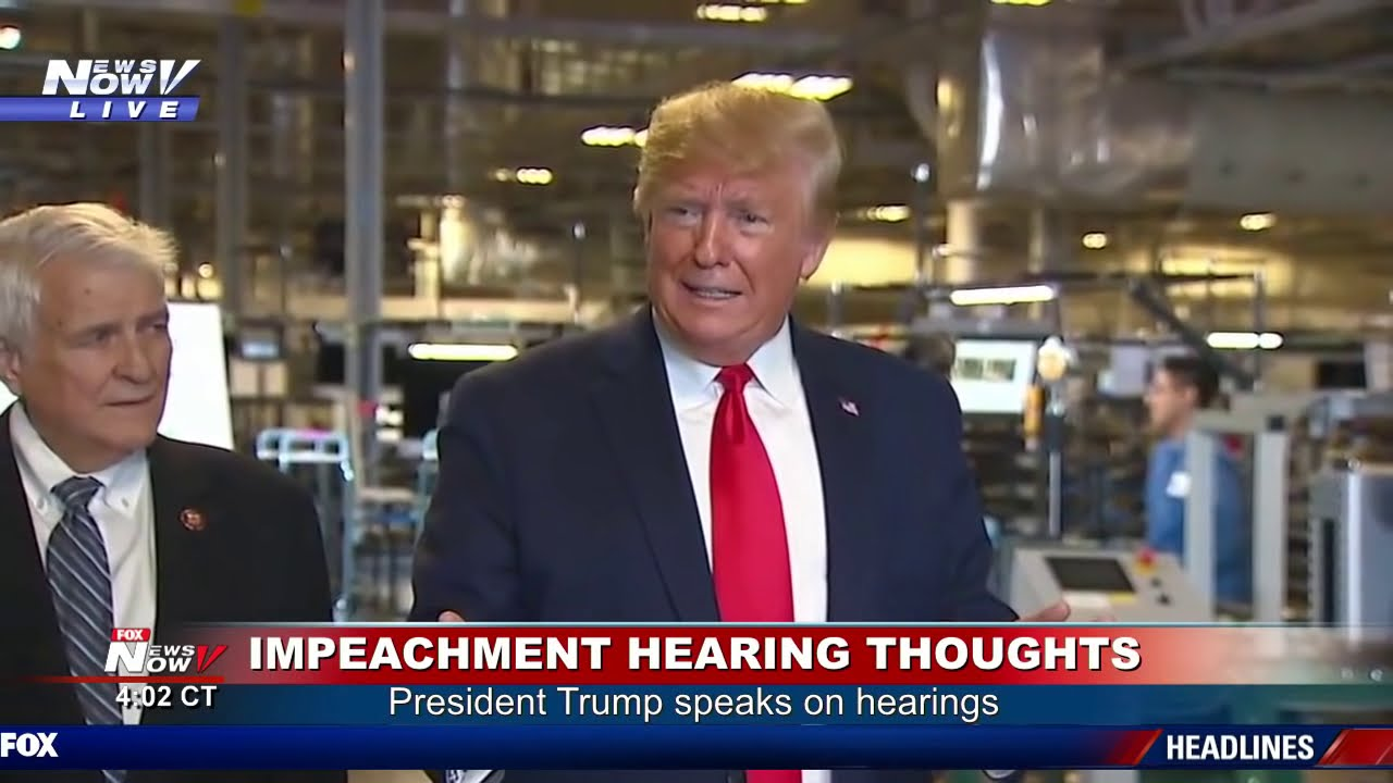IT'S OVER: President Trump DECLARES Impeachment Is Over & Republicans Won