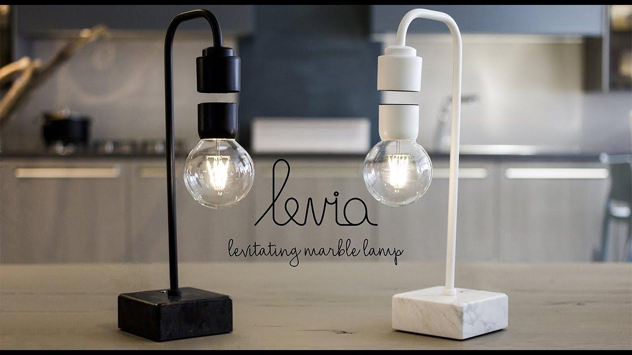 Levia - Unique levitating marble lamp