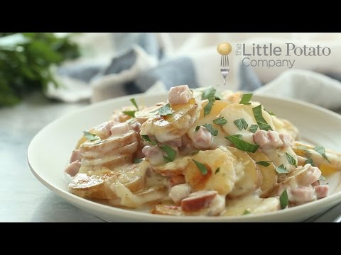 Healthier Scalloped Potatoes And Ham