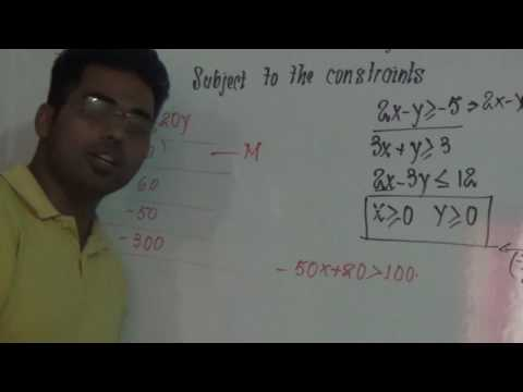 linear programming (unbounded feasible region)