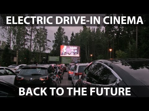 Electric drive-in cinema