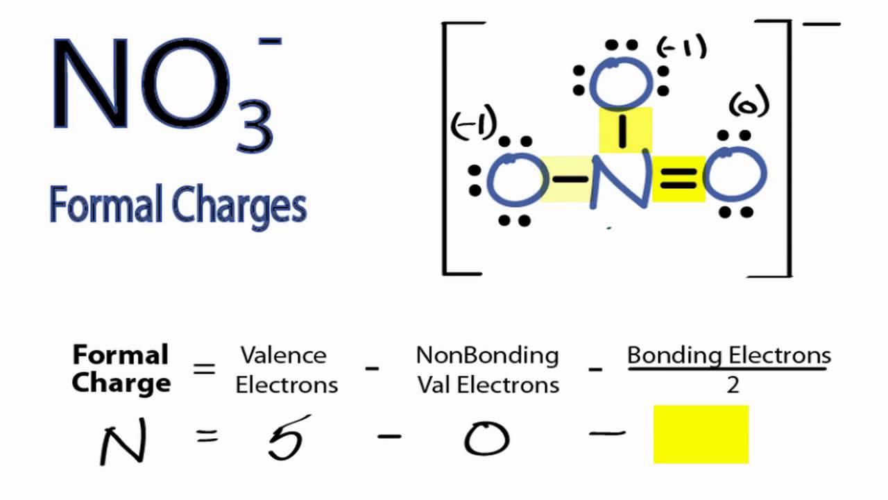 medium resolution of calculating no3 formal charges calculating formal charges for no3 youtube