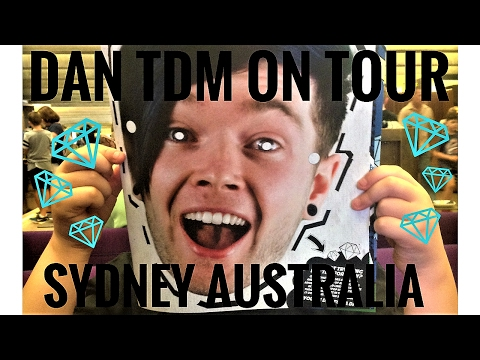 Dan TDM On Tour - Sydney Australia January 2017