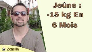 181 Jeune intermittent : Comment j ai perdu 15 kg/6 mois (mon experience)