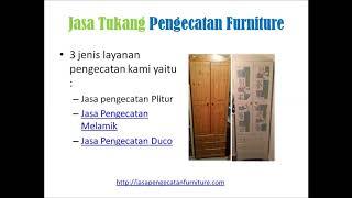 Jasa Tukang Pengecatan Duco Melamik Mebel Furniture Jakarta Depok Tangerang Bogor Bekasi