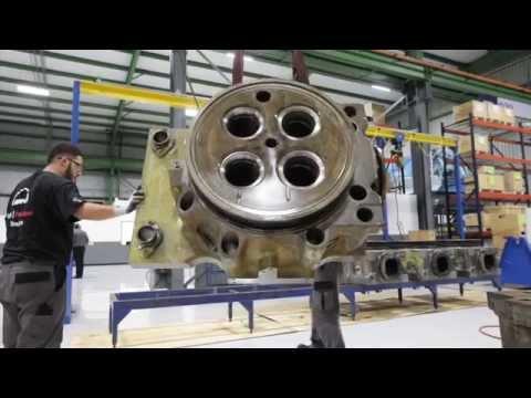 MAN Diesel & Turbo,  Houston workshop tour