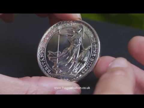 Royal Mint 1oz Silver Britannia Bullion Coin