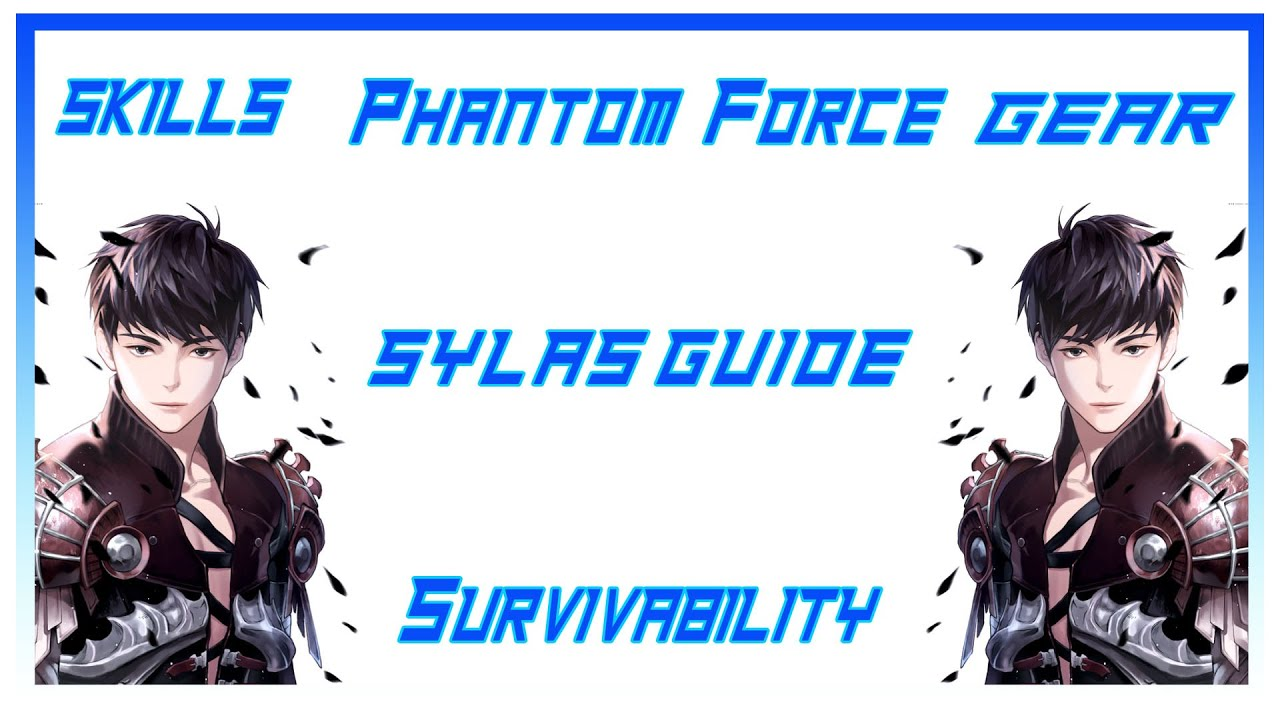 Vindictus sylas guide skills phantom force survivability vindictus sylas guide skills phantom force survivability equipmentarmor etc equipments at equipments negle Images