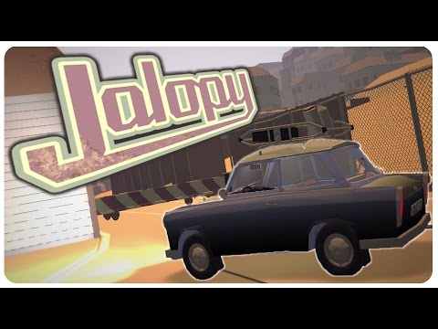 My Summer Roadtrip to Bulgaria! (NEW UPDATE) - Jalopy Gameplay | Let's Play Jalopy Part 1