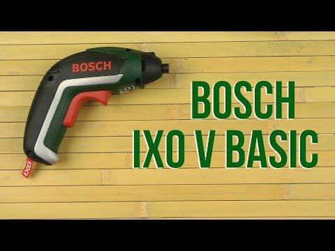 Видео обзор: Отвертка аккум BOSCH IXO V basic