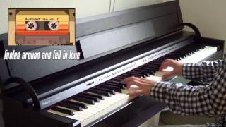 Guardians of the Galaxy - Awesome Mix Vol. 1 (Piano Medley)
