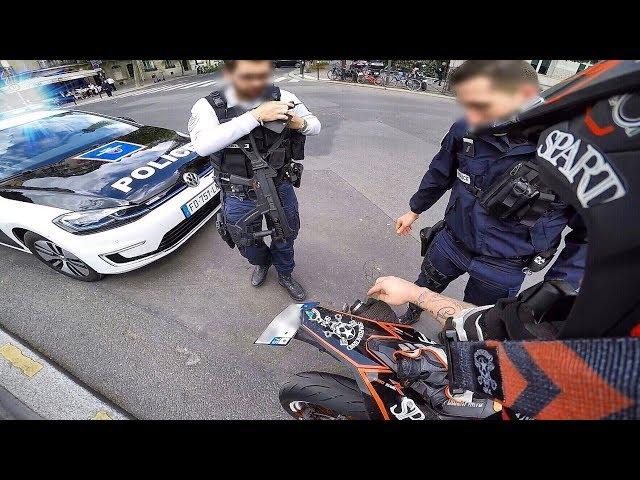 SURPRISE ! CONTRÔLE DE POLICE MON POT FAIT TROP DE BRUIT
