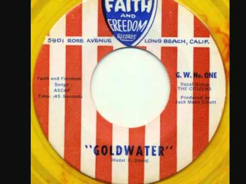 """""""Goldwater"""" by The Citizens (1964)"""