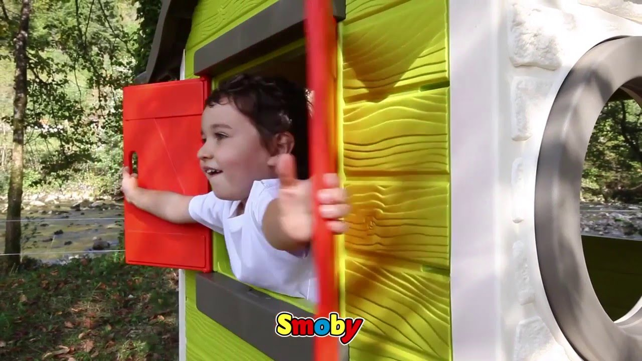 Maison de jardin My house de Smoby - YouTube