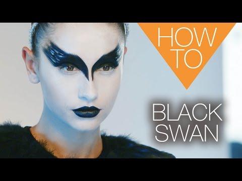 The new Black Swan | HALLOWEEN | HOW TO MAKEUP TUTORIAL