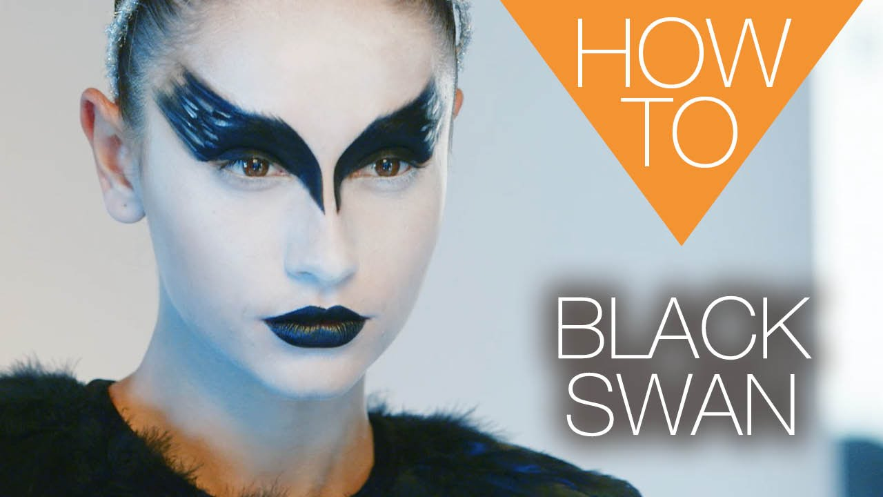 The new Black Swan | HALLOWEEN | HOW TO MAKEUP TUTORIAL