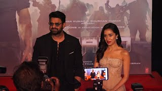 Saaho Trailer Launch | 'Prabhas has the most amazing heart': Shraddha Kapoor