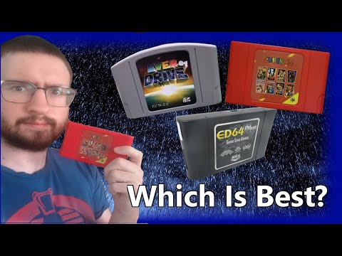 Which N64 Everdrive is Best? - Super64 Review