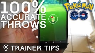HOW TO THROW 100% ACCURATE POKÉBALLS IN POKÉMON GO