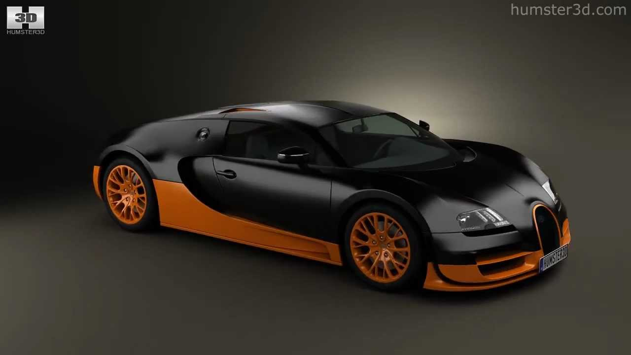 bugatti veyron grand-sport world-record-edition3d model store
