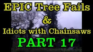PART 17 - EPIC tree fails around the world compilation & IDIOTS with chainsaws