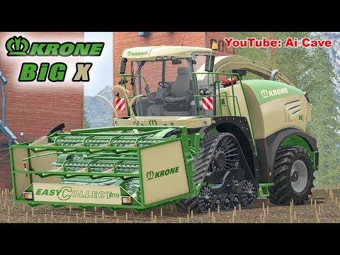 Farming Simulator 2017 - Krone BiG X 580 - Maize & Grass Silage Mods