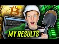 I Mined Bitcoin On My Computer For 1 Week