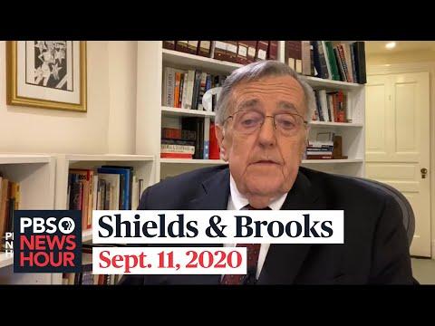 Shields and Brooks on virus aid impasse, Woodward's Trump revelations