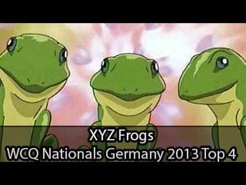 XYZ Frogs - Top 4 WCQ Nationals Germany - Michael Friedmann - Yugioh Deck Profile May 2013