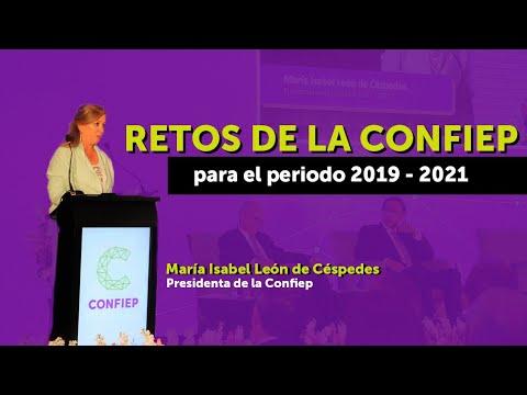 María Isabel León presidenta de CONFIEP y los mermeleros de Panamericana TV del Perú