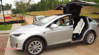 Can Model X Drive Wings Up?