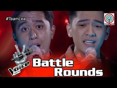 The Voice Teens Philippines Battle Round: Brandon vs. Franz - Hiling
