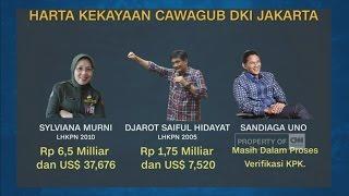 Intip Harta Cagub DKI Jakarta, Siapa Paling Kaya?