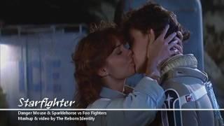 Foo Fighters vs Danger Mouse & Sparklehorse 'Starfighter' (mashup) HD