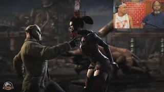 Dad Reacts to Mortal Kombat X Fatalities, & Brutalities X-Ray Compilation!