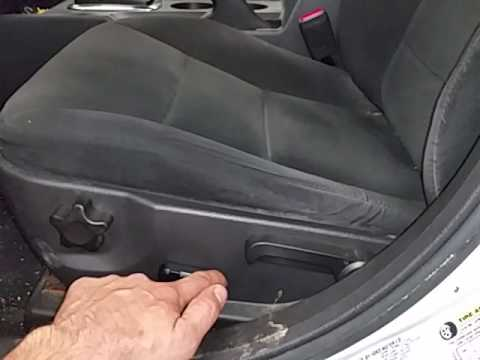 BA0035 - 2007 Ford Fusion SE - Driver Side Front Seat - YouTube