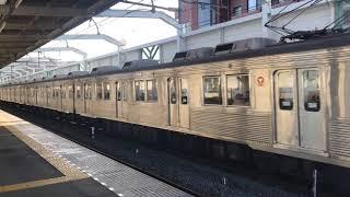 【鉄道動画】蒲生駅にて 東急8500系通過シーン