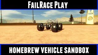 FailRace Play Homebrew Vehicle Sandbox