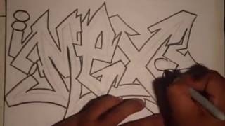 How to draw graffiti - (REQUESTED)- (MEX)-By Wizard.wmv thumbnail