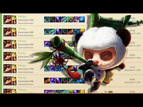 Teemo 10-0 Placements